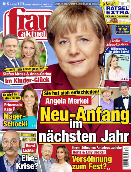 frau aktuell December 21, 2018 00:00