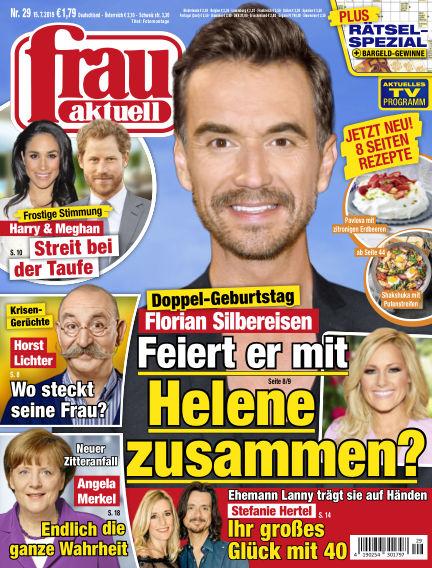 frau aktuell July 15, 2019 00:00