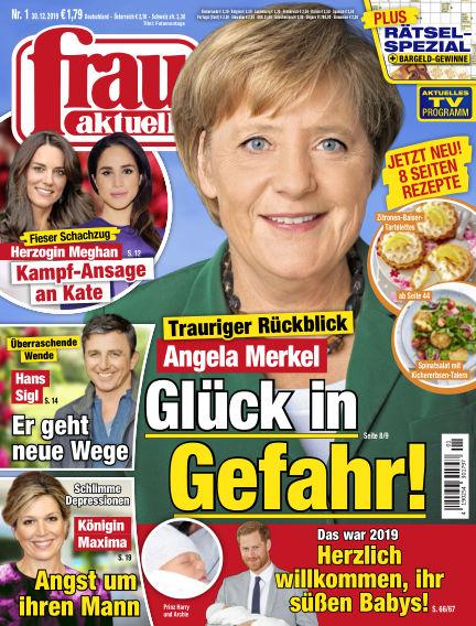 frau aktuell December 30, 2019 00:00
