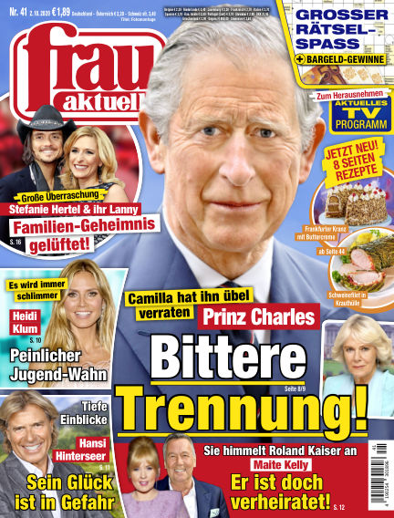 frau aktuell October 02, 2020 00:00