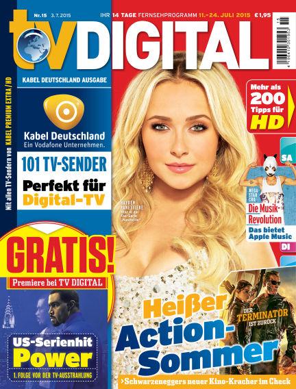 TV DIGITAL Kabel Deutschland July 03, 2015 00:00