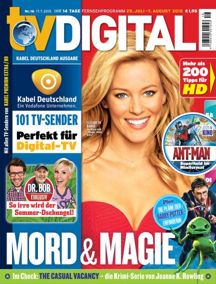 TV DIGITAL Kabel Deutschland July 17, 2015 00:00