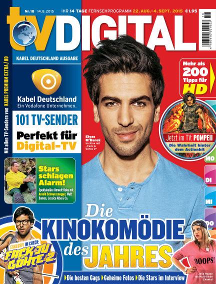 TV DIGITAL Kabel Deutschland August 14, 2015 00:00