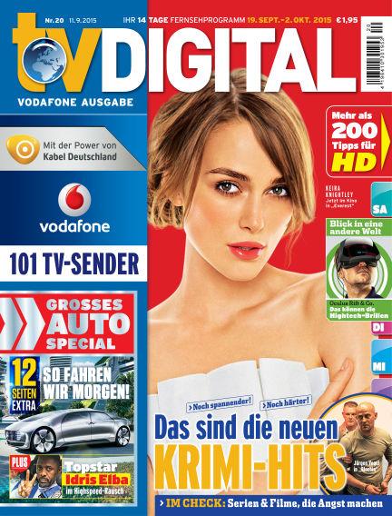 TV DIGITAL Kabel Deutschland September 11, 2015 00:00