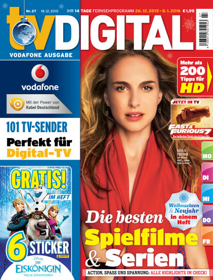 TV DIGITAL Kabel Deutschland December 18, 2015 00:00