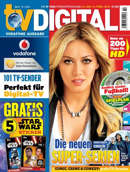 TV DIGITAL Kabel Deutschland January 15, 2016 00:00
