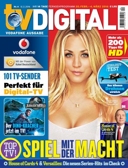 TV DIGITAL Kabel Deutschland February 12, 2016 00:00