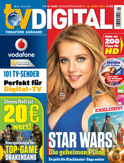 TV DIGITAL Kabel Deutschland February 26, 2016 00:00