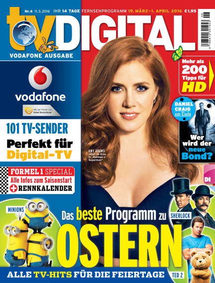 TV DIGITAL Kabel Deutschland March 11, 2016 00:00