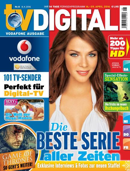 TV DIGITAL Kabel Deutschland April 08, 2016 00:00