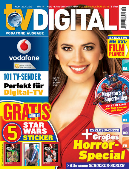 TV DIGITAL Kabel Deutschland April 22, 2016 00:00