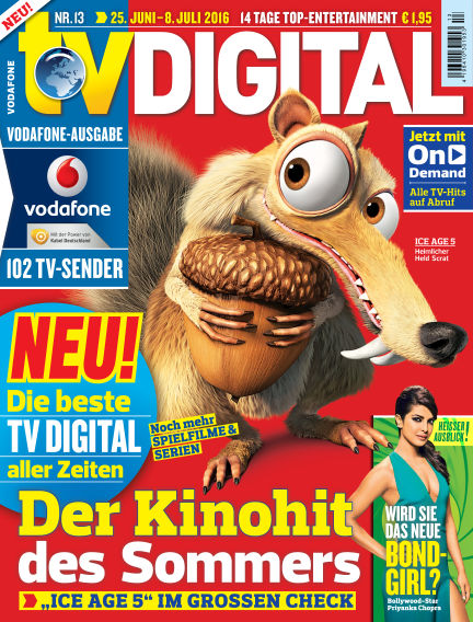TV DIGITAL Kabel Deutschland June 17, 2016 00:00