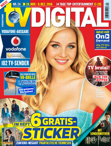 TV DIGITAL Kabel Deutschland November 18, 2016 00:00
