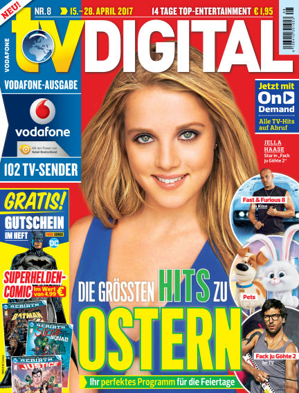 TV DIGITAL Kabel Deutschland April 07, 2017 00:00