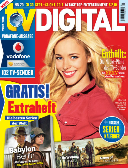 TV DIGITAL Kabel Deutschland September 22, 2017 00:00