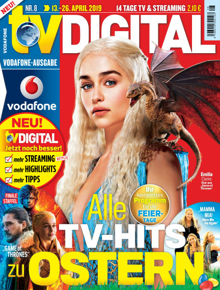 TV DIGITAL Kabel Deutschland April 04, 2019 00:00