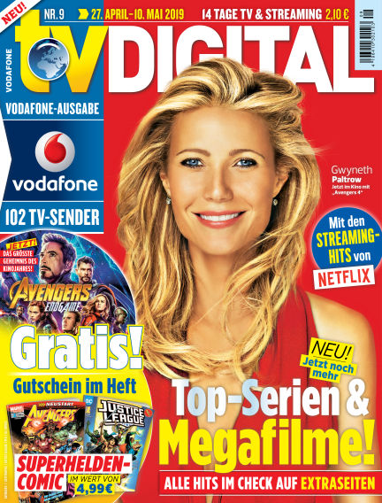 TV DIGITAL Kabel Deutschland April 18, 2019 00:00