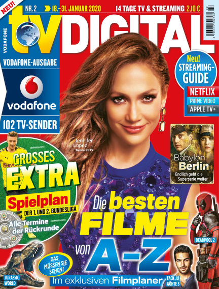 TV DIGITAL Kabel Deutschland January 10, 2020 00:00