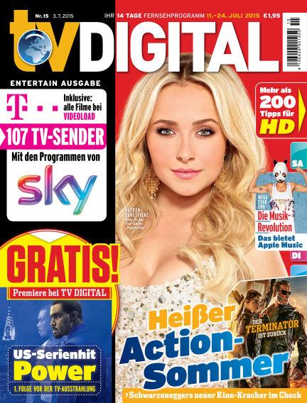 TV DIGITAL Entertain July 03, 2015 00:00