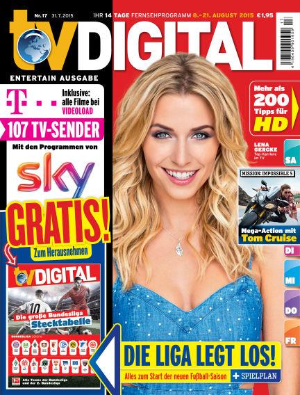 TV DIGITAL Entertain July 31, 2015 00:00