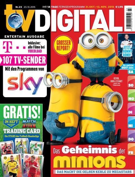 TV DIGITAL Entertain October 23, 2015 00:00