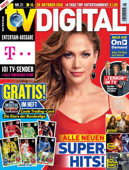 TV DIGITAL Entertain October 07, 2016 00:00