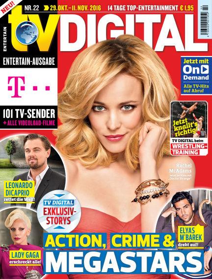 TV DIGITAL Entertain October 21, 2016 00:00