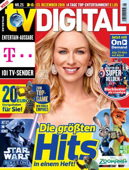 TV DIGITAL Entertain December 02, 2016 00:00
