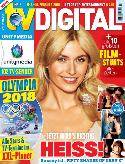 TV DIGITAL UNITYMEDIA January 26, 2018 00:00
