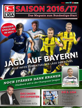 Bundesliga Sonderheft Jagd auf Bayern!