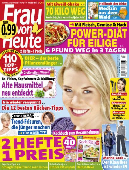 FRAU von HEUTE October 07, 2016 00:00
