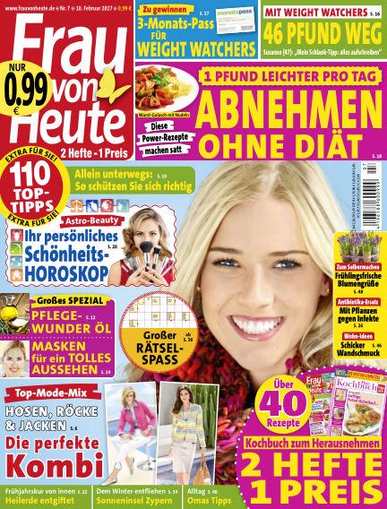 FRAU von HEUTE February 10, 2017 00:00