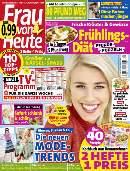 FRAU von HEUTE February 24, 2017 00:00