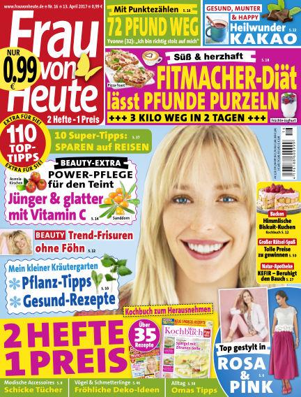 FRAU von HEUTE April 13, 2017 00:00