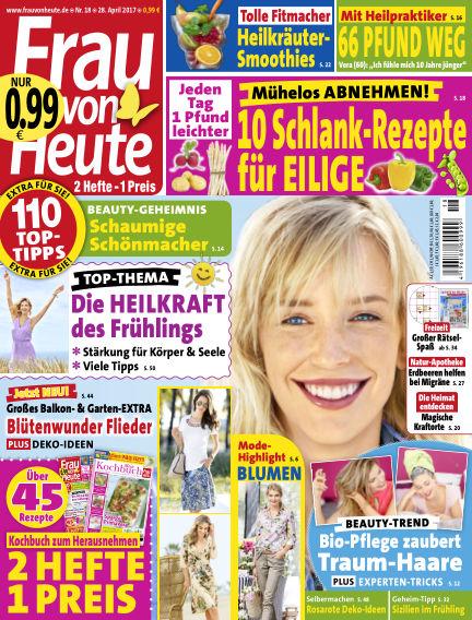FRAU von HEUTE April 28, 2017 00:00