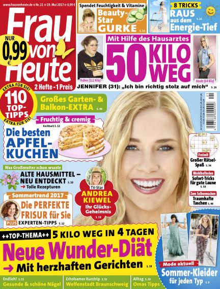 FRAU von HEUTE May 19, 2017 00:00