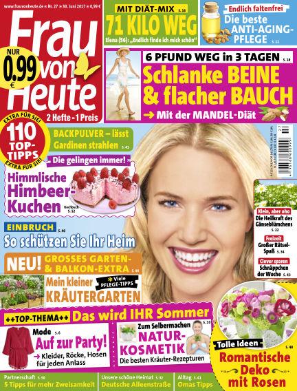 FRAU von HEUTE June 30, 2017 00:00