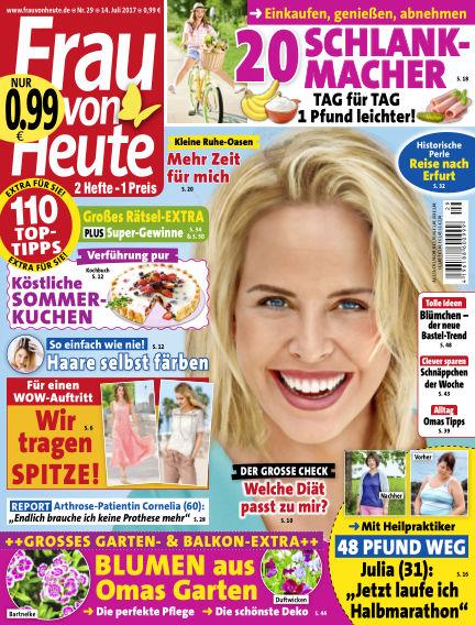 FRAU von HEUTE July 14, 2017 00:00