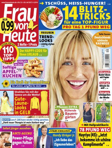 FRAU von HEUTE July 28, 2017 00:00