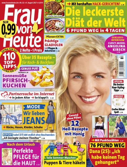 FRAU von HEUTE August 04, 2017 00:00