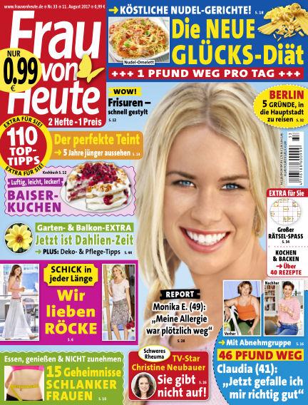 FRAU von HEUTE August 11, 2017 00:00