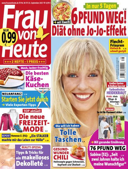 FRAU von HEUTE September 15, 2017 00:00