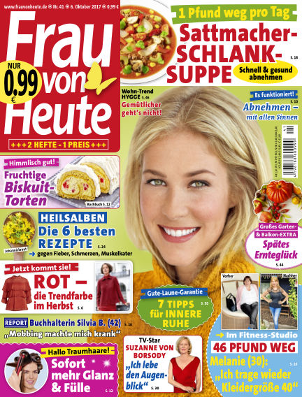 FRAU von HEUTE October 06, 2017 00:00