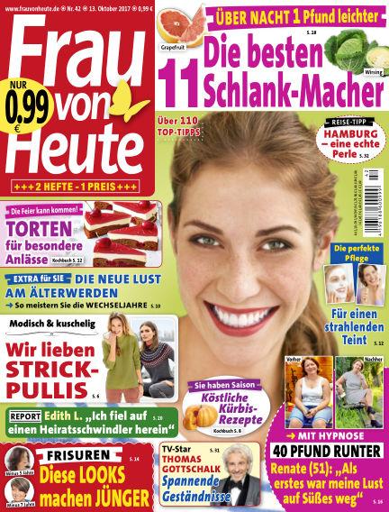FRAU von HEUTE October 13, 2017 00:00