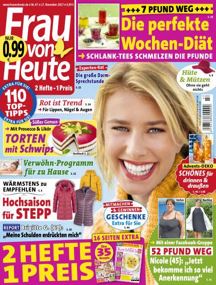 FRAU von HEUTE November 17, 2017 00:00