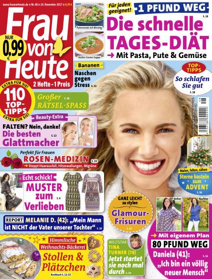 FRAU von HEUTE November 24, 2017 00:00