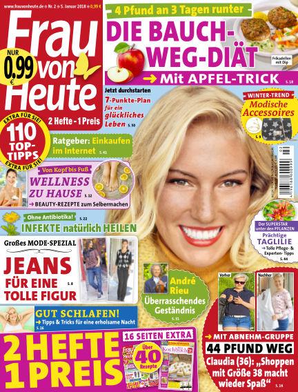 FRAU von HEUTE January 05, 2018 00:00