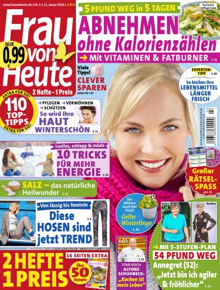 FRAU von HEUTE January 12, 2018 00:00