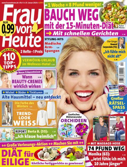 FRAU von HEUTE January 19, 2018 00:00