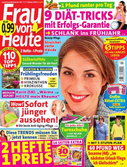FRAU von HEUTE February 09, 2018 00:00